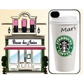 "Case Starbucks ""Mari""- iphone5/5s (Pronta entrega)"